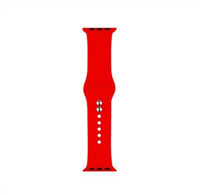 Cinturino Bracciale Silicone Sport Band per Apple Watch 40mm 44mm 38mm 42mm 3