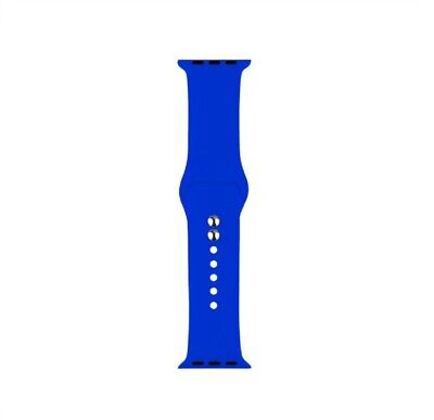 Cinturino Bracciale Silicone Sport Band per Apple Watch 40mm 44mm 38mm 42mm 8