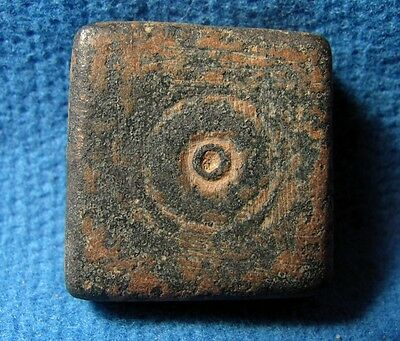 Judaea Unusual bronze weight. Byzantine 5-7cen. AD. 25.80gram. Uncia from Judea. 4