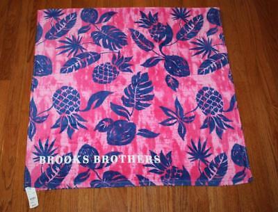 New Pink Pineapple Beach Towel Cotton Bath Pool GIFT Fresh Citrus Fruit NWT Aqua