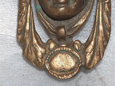 Antique Vintage Bronze Door Knocker 6 • CAD $255.14