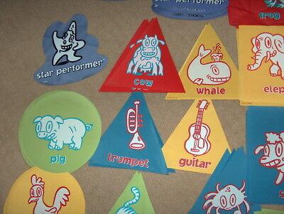 DRUMS RED CIRCLE cranium hullabaloo replacement pad single piece one mat
