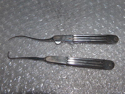 Rare Antique Vintage Set Of Medical Surgical Instruments, Original Case,1900-30