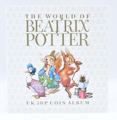 2016 2017 2018 Beatrix Potter Fifty Pence 50p Coins Jemima Peter Rabbit UNC 2