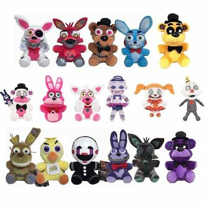 """Five Nights at Freddy's FNAF Horror Game Plush Doll Kids Plushie Toy 4.7"""" 7""""10"""" 3"""