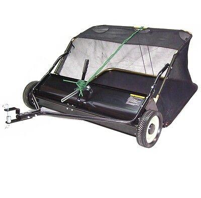 55200 Kehrmaschine 105cm Rasenkehrer Rasenkehrmaschine Aufsitzmäher Rasentraktor