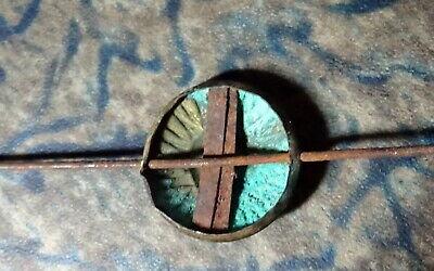 A Unique and Rare Continental Mantel Clock Pendulum Brass Sun Face Antique 5
