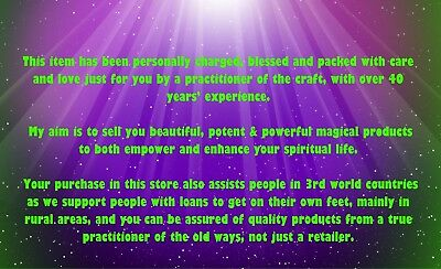 PSYCHIC, MEDIUM, CLAIRVOYANT 30 min Over the Phone Reading Wicca Witch Pagan 7