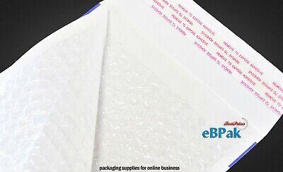 Bubble Mailer Size #01 160x230mm - Plain White  Padded Bag Envelope 50/200/500 4
