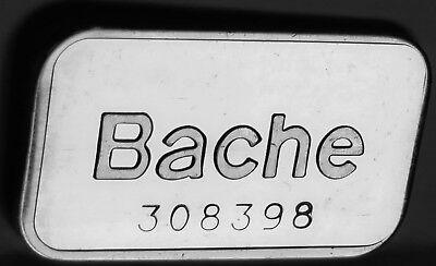 Bache Art Bar #308398 Pioneer Mint Kidd Pm-5 1981 .999 Fine Silver 1 Troy Oz 8