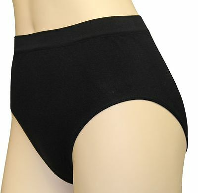 Ladies High Waist Wicking Microfibre Womens Knickers Running Underwear Gym