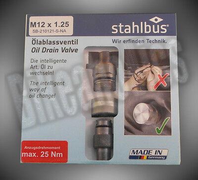 Ölablassventil Stahlbus M12 x 1,5 Honda CB Seven Fifty Bj 92-03