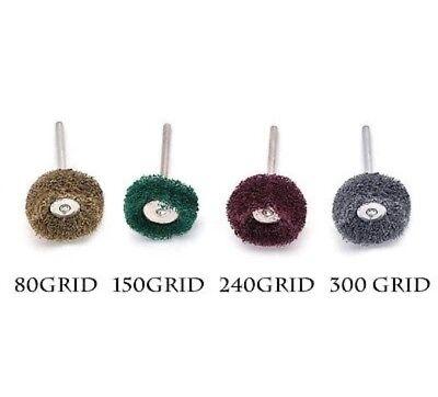 "8 pcs 1"" (25mm) Abrasive Wheel Buffing Polishing Wheels fits DREMEL Rotary Tools 2"