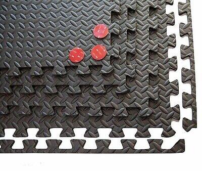 Gym Flooring Mats | Interlocking Puzzle Exercise Mat | Protective EVA Foam Tiles 3