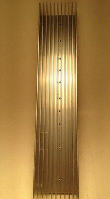 "Large Reclaimed Extruded Aluminum Heatsink 11/""x2 1//4/"" X1 1//2/"" Audio Amp DIY LED"