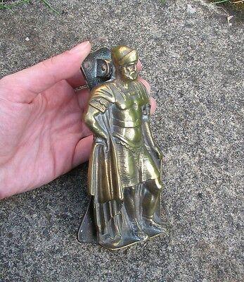 Antique reclaimed brass door knocker