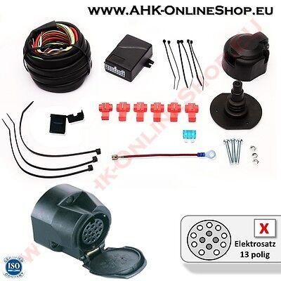 AHK + E-Satz 13 polig VW Caddy ab 02.2004 Kasten / Kombi Anhängerkupplung AHZV 4