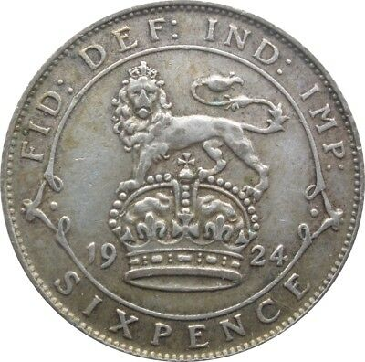 1920 To 1936 George V Lucky Silver Sixpences Choice Of Year / Date 3