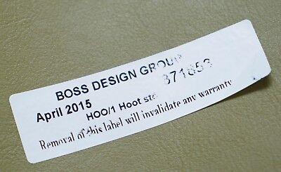 Six Cool Rrp £5280 Boss Design Hoot Leather Stools Modular Contemporary Design 6 8