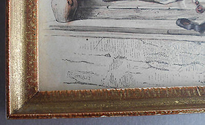 Antique Original Colored - Oriental Gravure by De GHOUY - 1840 2