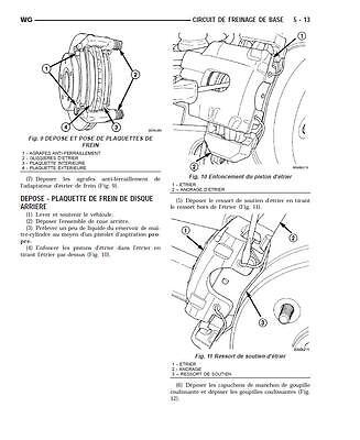 manuel atelier entretien réparation technique Jeep Grand Cherokee WG - WJ - Fr