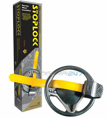 Geniune Stoplock Pro Thatcham 3 Car Van Steering Wheel Security Anti-Theft Lock 2