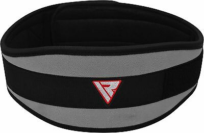 RDX BodyBuilding Weight Lifting Fitness Gym Neoprene Wide Double Back Support