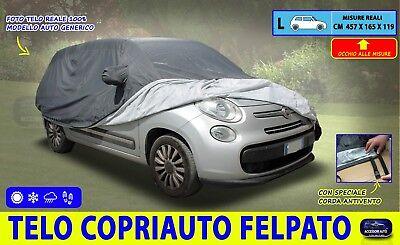 Telo Copriauto Copri Auto Macchina per Fiat Panda 500 Cinquecento 2007 in poi