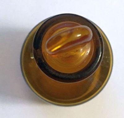 seltenes Laborglas | Apothekerglas | Chemielabor-Glas mit Deckel | Gewürzglas