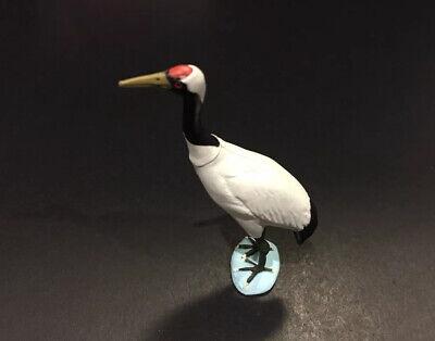 Red-crowned crane bird figurine Furuta Kaiyodo Choco egg animal figure