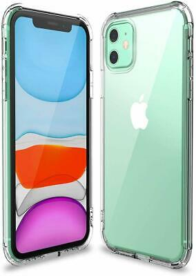 Shockproof Transparent Silicone Case Cover For iPhone 11 XS Max XR 8 7 Plus 6S 6 9