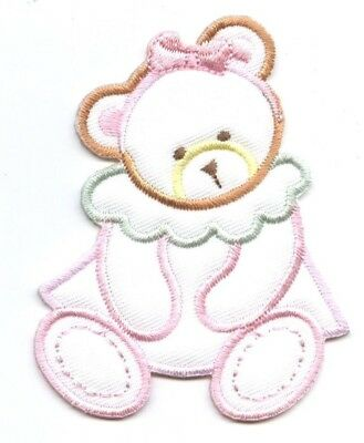 Pastel Rocking Horse Puffy//Childrens Toys Iron on Applique//Embroidered Patch