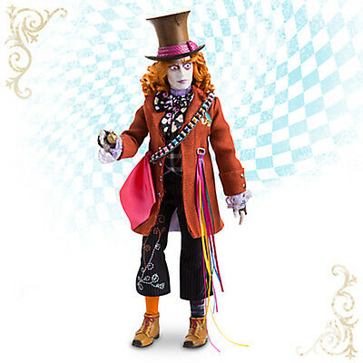 NIB LAST ONE DISNEY MAD HATTER DOLL ALICE THROUGH THE LOOKING GLASS
