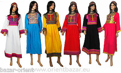 Orient Nomaden Tracht afghani kleid Tribaldance afghanistan traditional dress B9 10