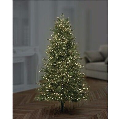 Premier Multi action Supabrights LED Christmas Xmas Lights 120 LED warm white
