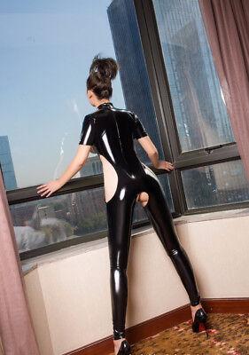 Completo Tuta Mistress Cavallo Aperto Latex Seno Scoperto Clubwear Dominatrice 8