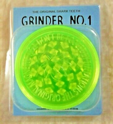 3 PART 60mm NON-MAGNETIC GRASSLEAF No 1 GRINDER FOR GRINDING HERB/GRASS 4