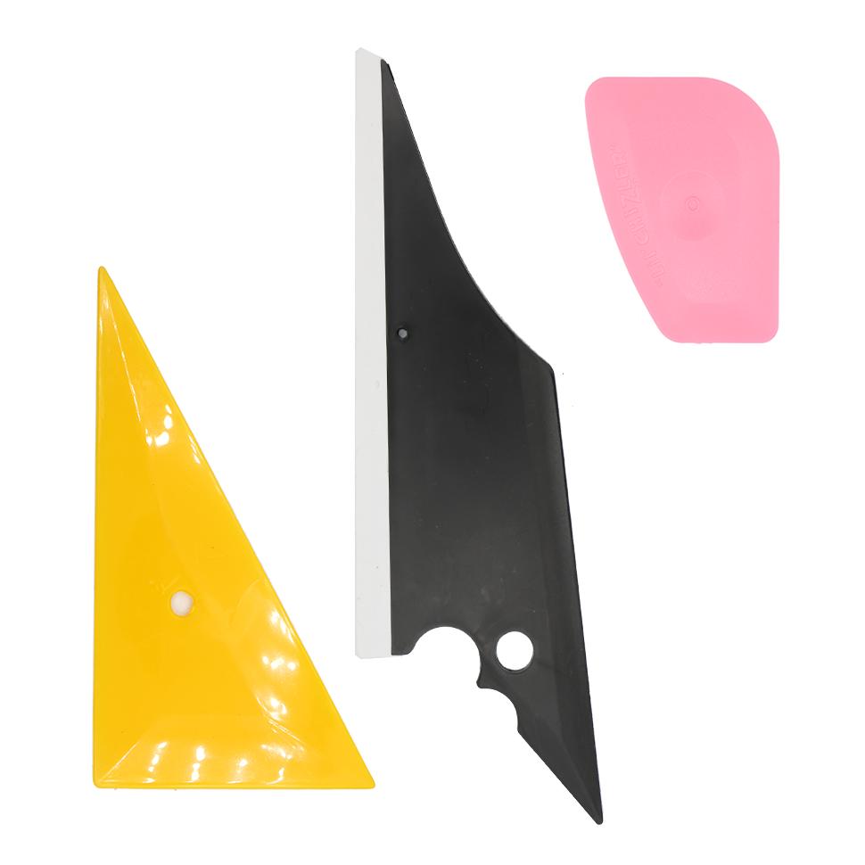 Pro Car Window Tint 8 PCS Kits Wrapping Vinyl Tools+Squeegee Scraper+Applicator 3