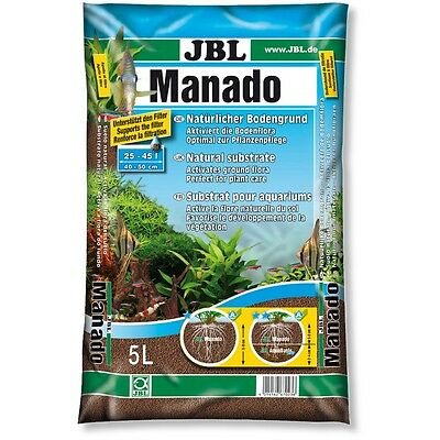 JBL Manado 25 L - Natur Bodengrund Aquarium Kies