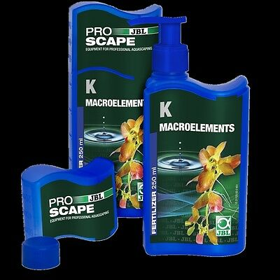 JBL ProScape K  Macroelements 250ml Potassium plant fertiliser aquatic aquarium