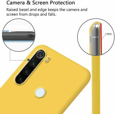 Cover Custodia Per Xiaomi Redmi Note 8 Pro 8T 8 7 +  Pellicola Vetro Temperato 9