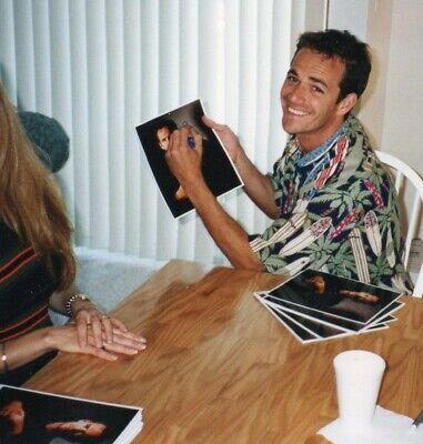 Luke Perry  autograph 8x10 photo , authentic original 2