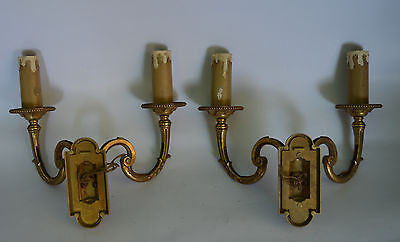 french vintage bronze sconces 3