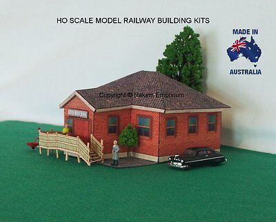 HO Scale Country School House Building Model Railway Building Kit - LRS1