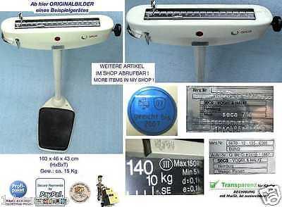 SECA 140Kg Personenwaage Waage Balkenwaage Medical Beam & Scales Báscula Balanza 2