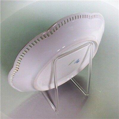 3 Stück Tellerhalter Tellerständer aus Glas bis 40cm Top Qualität