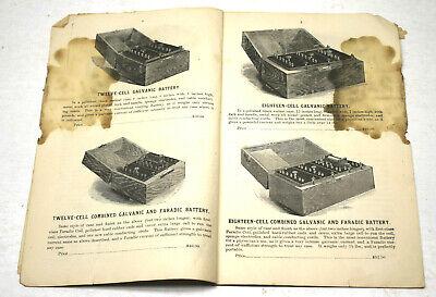 Rare Catalog For Early Quack Electronic Stimulation McIntosh Galvanic Battery Co 4
