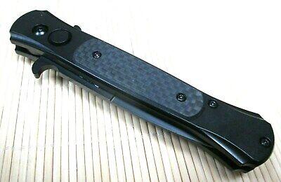 Springmesser Blackfield Carbon Klappmesser Einhandmesser Automatik Messer 88031 4