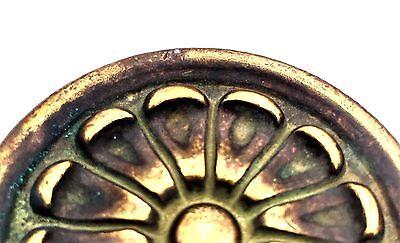 """2"""" Bronze Antique Hardware Vintage Drawer Pull Mid Century Modern Cabinet Knob 6"""