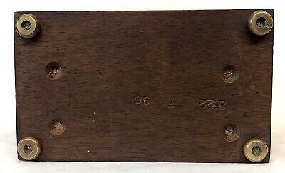 Lovely Elliott London Garrard Mantel Bracket Clock With Brass Dial 8